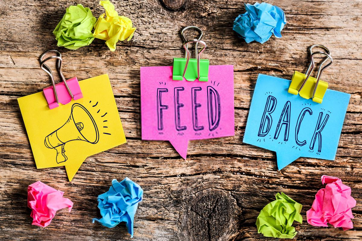 How to Receive Feedback: Deal with People's Complement and Criticism